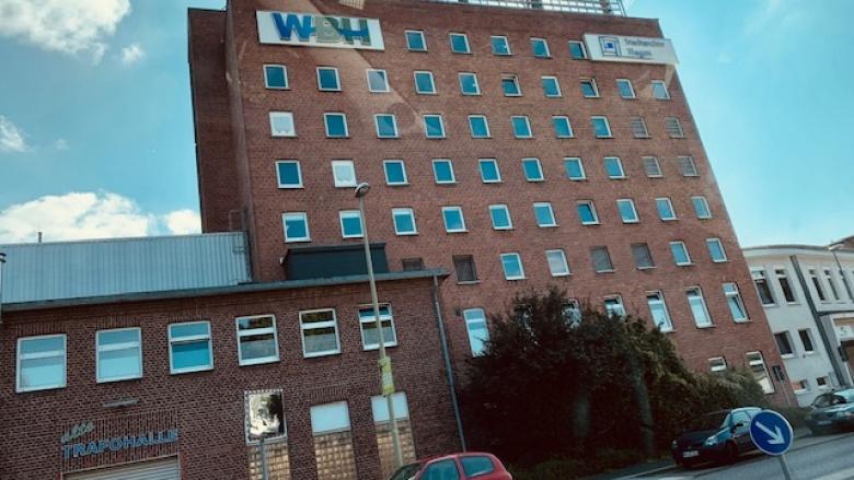 Das Bild zeigt das WBH-Gebäude in der Eilper Straße