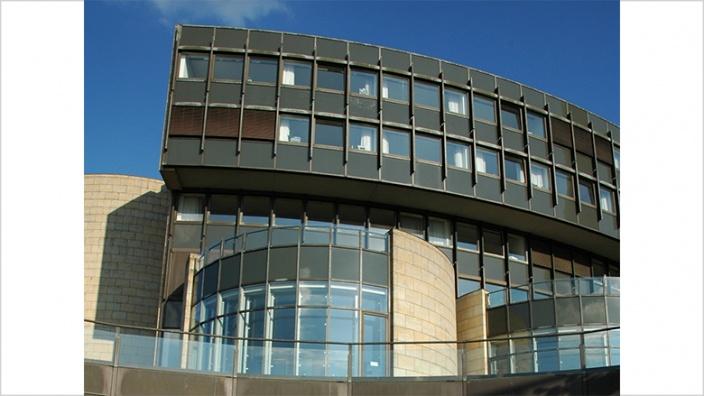 Das Bild zeigt den NRW-Landtag in Düsseldorf.
