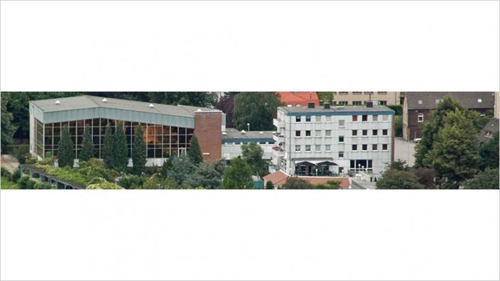 Das Bild zeigt das Lennebad in Hohenlimburg.