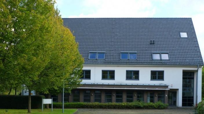 Das Bild zeigt das Gebäude des Landes am Ensemble von Haus Harkorten.