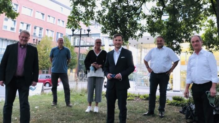 Das Bild zeigt den neuen Fraktionsvorstand der CDU-Ratsfraktion Hagen.