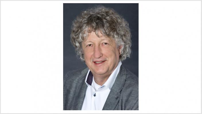 Das Bild zeigt Ratsmitglied Meinhard Wirth.